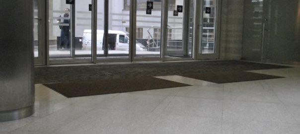 Грязезащитные ковры для бизнес-центра