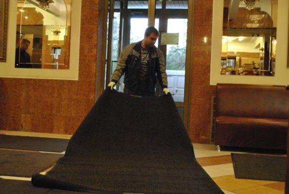 Грязезащитные ковры для офиса