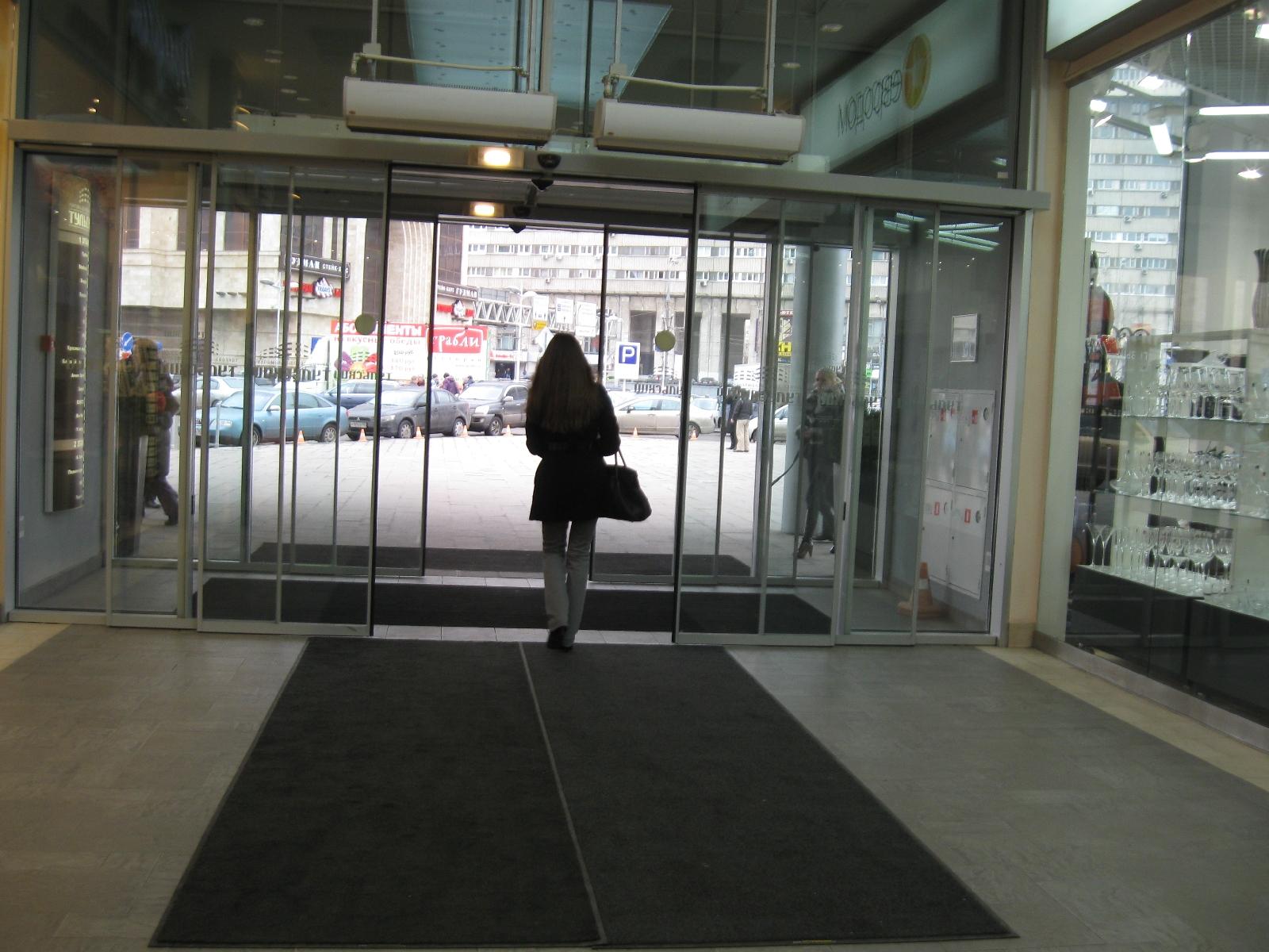 Сервис сменных ковров в ТЦ