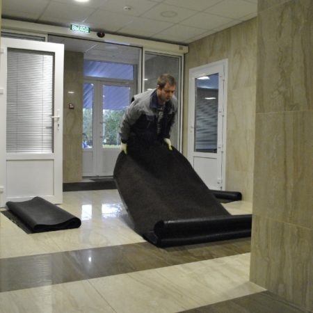 Сменные ковры для больниц и медицинских центров