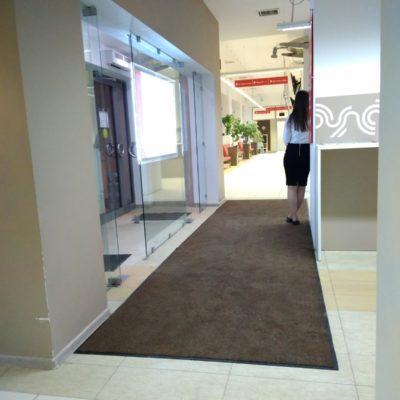 Сменные ковры в ТЦ