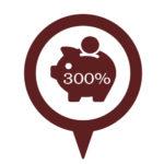 Экономия до 300%